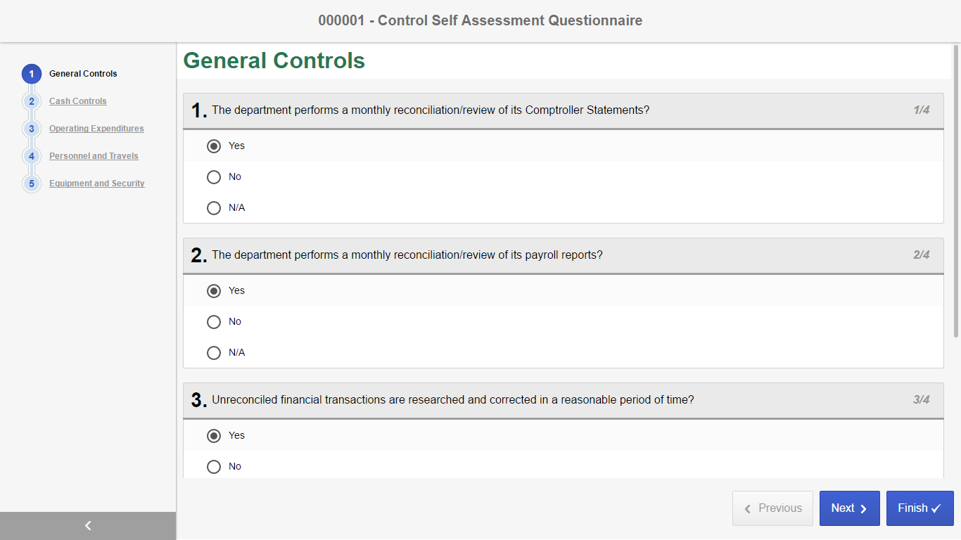 Software for Governance, Risk and Compliance Management - GRC