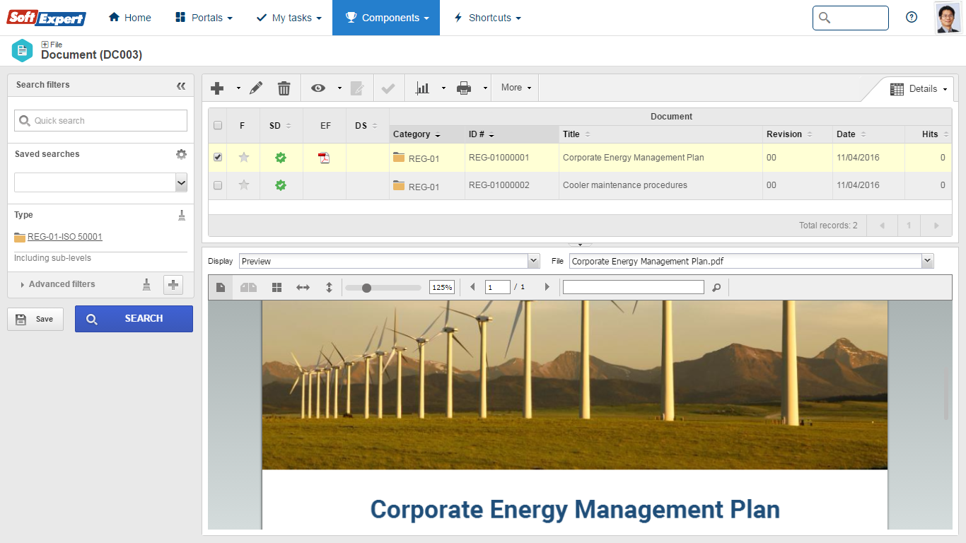 Iso 50001 softexpert software documents and policies management fandeluxe Image collections