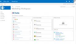 Workspace integration