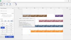 Calendario de capacitación
