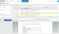 Pesquisa e visualização de documentos