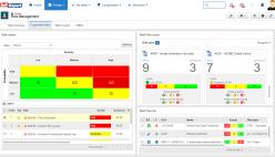Risk monitoring portals